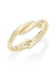 Kenneth Jay Lane Couture Collection Knot Cuff Bracelet Polished Gold