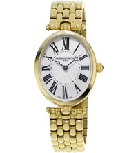 Frederique Constant 200Mpw2v5b Classics Art Deco Gold Plated Stainless Steel Watch