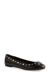Marc By Marc Jacobs 'Punk Mouse' Ballerina Flat Black