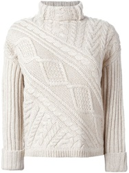 Polo Ralph Lauren Cable Knit Sweater White
