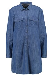 Wrangler Denim Dress Vintage Indigo Blue Denim