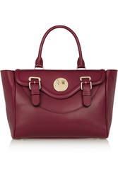 Hill And Friends Happy Satchel Leather Tote