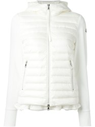 Moncler Padded Front Jacket White