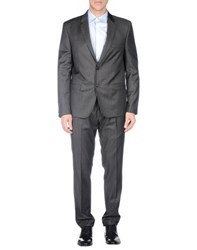 Massimo Rebecchi Suits And Jackets Suits Men Steel Grey