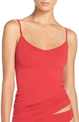 Nordstrom Women's Lingerie Two Way Seamless Camisole Red Lipstick
