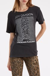 R 13 Joy Division T Shirt Black