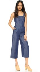 Club Monaco Tove Denim Jumpsuit Indigo