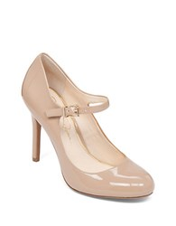 Jessica Simpson Raelyn Patent Leather Stiletto Pumps Nude