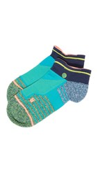 Stance Athletic Low Reflex Socks Aqua