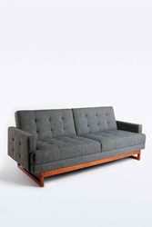 Either Or Sofa In Grey Urban Outfitters