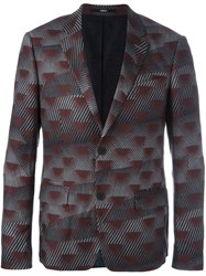Kenzo Abstract Print Jacket Multicolour