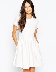 Traffic People Prom Dress White