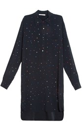 Christopher Kane Embellished Shirt Dress Black