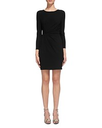 Whistles Ruched Waist Body Con Dress Black
