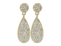 Karen Kane Moonlight Dew Drop Earrings Gold Earring