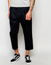 Izzue Cropped Trouser Navy
