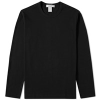 Comme Des Garcons Shirt Long Sleeve Classic Tee Black