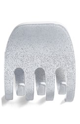 France Luxe Tooth Jaw Clip White Glitter