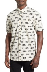 Men's Vans 'Tilton Vans Of The World' Short Sleeve Woven Shirt