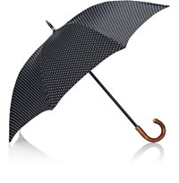 Barneys New York Men's Stick Umbrella Black