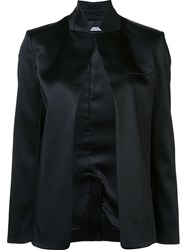 Alexander Wang T By Open Front Jacket Black