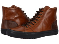 Frye Grand Tall Lace Cognac Smooth Vintage Leather Men's Lace Up Casual Shoes Brown