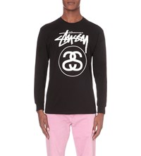 Stussy Stock Link Cotton Top Black