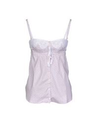 Ermanno Scervino Lingerie Sleeveless Undershirts White