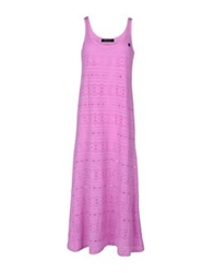Naughty Dog 3 4 Length Dresses Light Purple