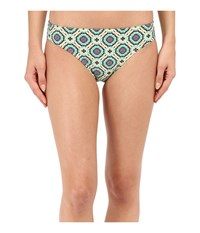 Prana Lani Bottom Cool Green Sundial Women's Swimwear