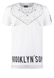 Brooklyn's Own By Rocawear Loose Fit Print Tshirt White