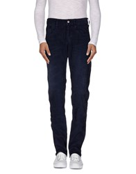 Replay Trousers Casual Trousers Men Dark Blue