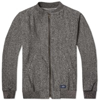 Bleu De Paname Tweed Bomber Jacket Black