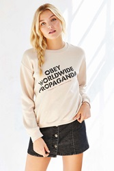 Obey Recipe Pullover Hoodie Ivory