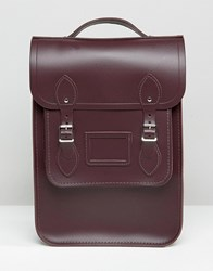 Cambridge Satchel Company The Portrait Backpack Damson Purple