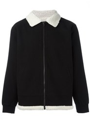 Stussy Collar Detail Bomber Jacket Black