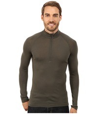 Icebreaker Everyday Long Sleeve Zip Cargo Men's Long Sleeve Pullover Taupe