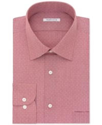 Van Heusen Men's Classic Fit Non Iron Textured Micro Check Dress Shirt