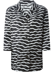 Antonio Marras Striped Boxy Jacket
