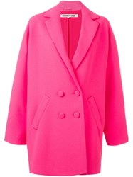 Mcq By Alexander Mcqueen 'Kimono' Coat Pink And Purple