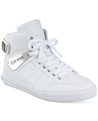 G By Guess Odean High Top Sneakers Women's Shoes White