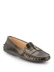 Tod's Gommini Leather Moccasins Multi