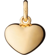 Links Of London Heart 18Ct Yellow Gold Charm