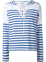 Jean Paul Gaultier Striped Hoodie
