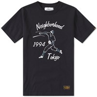 Neighborhood Baseball Tee Black