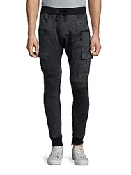American Stitch Cargo Jogger Pants Charcoal