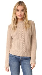 Ryder Milo Cable Knit Oatmeal