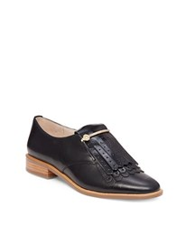 Louise Et Cie Lo Tamare Kiltie Patent Leather Oxfords Black