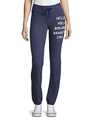 Wildfox Couture Hello Lounge Pants Navy