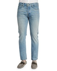 Tom Ford Straight Fit Light Wash Denim Jeans Light Blue